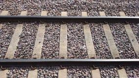 Railtrack. Derbyshire tracks running through Langley mill station Stock Photography