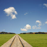 Railtrack Landscape Royalty Free Stock Photos