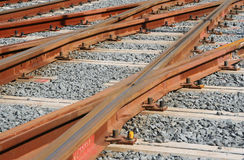 Railtracks Royalty Free Stock Photography