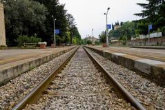 Railtracks Royalty Free Stock Photo