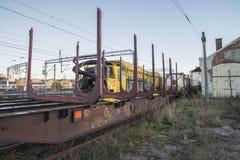 RAILVAC-16000, RA-3 Stock Photo