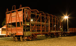 Railwagon Framework Royalty Free Stock Photo
