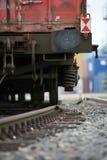 railway детали груза Стоковое Изображение RF