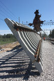 railway конструкции Стоковые Изображения RF