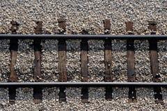 railway крупного плана Стоковые Фотографии RF