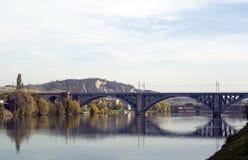 railway моста Стоковое Фото
