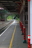railway платформы Стоковые Фотографии RF