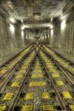 railway подземный Стоковые Изображения RF