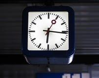 railway часов Стоковые Фотографии RF