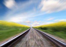 Railway Royalty Free Stock Photography