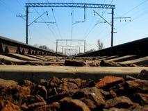 The railway Royalty Free Stock Photos
