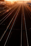 Railway. The way to the future Stock Photography