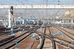 The railway Stock Photos
