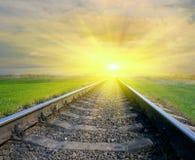 Railway Royalty Free Stock Image
