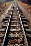 Railway. Blade narrow-gauge railroad, Kharkov, Ukraine Royalty Free Stock Photo