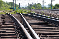 Railway. Royalty Free Stock Image