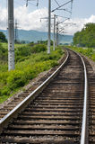 The railway. Royalty Free Stock Image