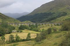 The railway viaduct at Glenfinnan royalty free stock photos