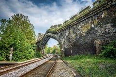Railway Arch Stock Photo