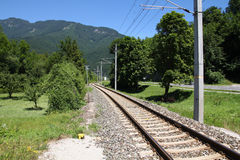 Railway in Austria Royalty Free Stock Images