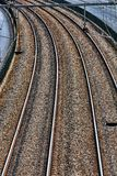 Railway background Stock Images