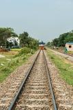 Railway in Bangladesh Royalty Free Stock Photos