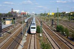 Railway in Berlin Stock Photo