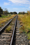 Railway and blue sky Royalty Free Stock Images