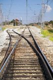 Railway branch Stock Photos