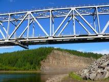 Railway bridge Royalty Free Stock Images