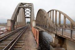 Railway bridge Royalty Free Stock Image
