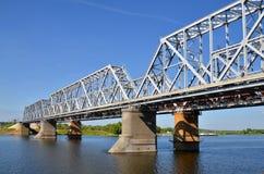 Railway bridge Royalty Free Stock Photo