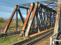 Railway bridge Royalty Free Stock Image