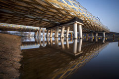 Railway bridge royalty free stock photos