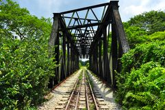 Railway bridge at Bukit Timah Royalty Free Stock Photos