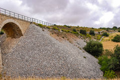 The railway bridge in Donnafugata, Ragusa. Sicily Stock Images