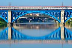 Railway Bridge, Maribor, Slovenia Stock Photos