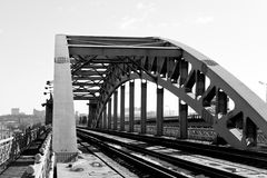 Railway bridge Royalty Free Stock Photography