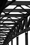 Railway bridge detail Stock Image