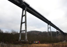 Railway Bridge,Moravske Branice , Czech Republic, Europe Stock Photography