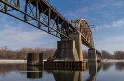 Railway Bridge. Stock Images