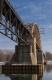 Railway Bridge. Royalty Free Stock Photography