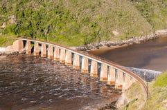 Railway bridge over the Kaaimans River Royalty Free Stock Image