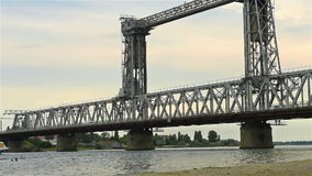Railway Bridge stock video