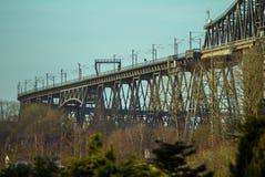 Rendsburg. Railway bridge in Rendsburg, Germany Royalty Free Stock Photo