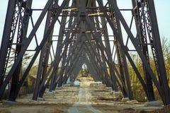 Rendsburg. Railway bridge in Rendsburg, Germany Stock Photo