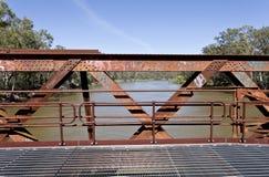 Railway Bridge Structure Stock Image