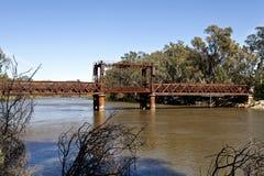 Railway Bridge at Tocumwal Stock Photos