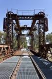 Railway Bridge at Tocumwal Stock Images