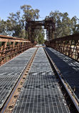 Railway Bridge at Tocumwal Royalty Free Stock Image